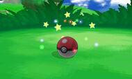 Capturando un Pokémon en XY