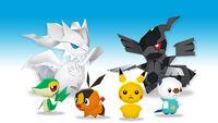 Los Muñecos de los Pokémon de Teselia