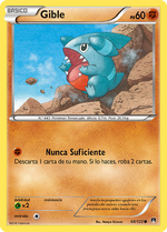 Gible (TURBOlímite TCG)