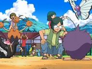 EP557 Niños con sus Pokémon
