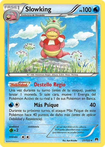 Carta de Slowking