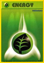 Energía planta (Base Set TCG)
