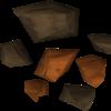 Mena de cobre detallada
