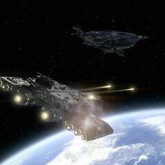 Los incendios Phoenix misiles el planeta
