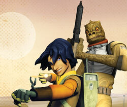 Ezra and Bossk