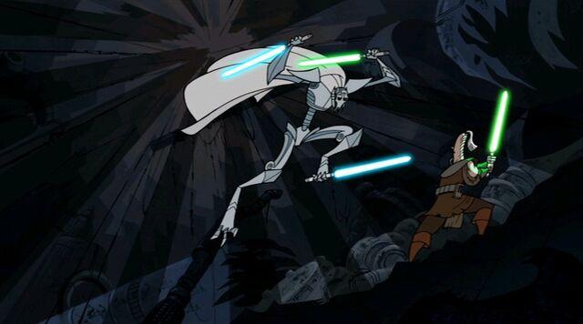 Archivo:Grievous attacks Ki-Adi-Mundi.jpg