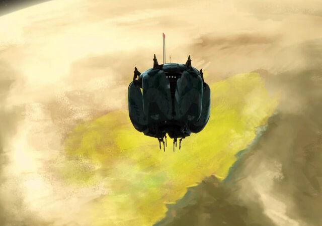 Archivo:Vulture droid deployment pod2.jpg