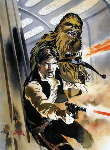 Archivo:Han y Chewie en la Estrella Final.jpg