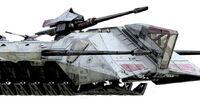 Transporte de Artillería para Terreno Inestable