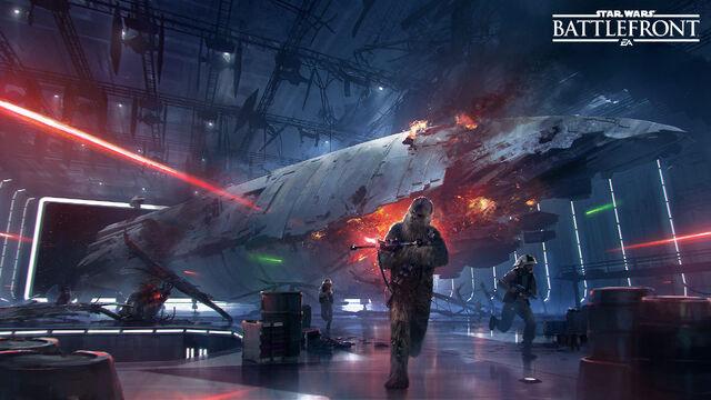 Archivo:Star Wars Battlefront - Death Star DLC.jpg