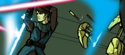 Skywalker as bait
