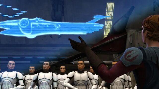 Archivo:Skywalker briefs Shadow Squadron.jpg