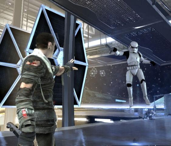 Archivo:Starkiller stormtrooper.jpg