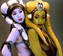 Bailarinas del Palacio de Jabba