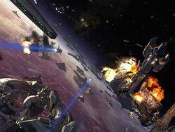 Guerra en la orbita de coruscant.jpg
