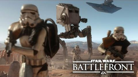 Star Wars Battlefront Misión revelada – Gameplay cooperativo