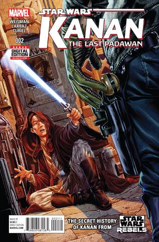 Archivo:Star Wars Kanan The Last Padawan 2 cover.jpg