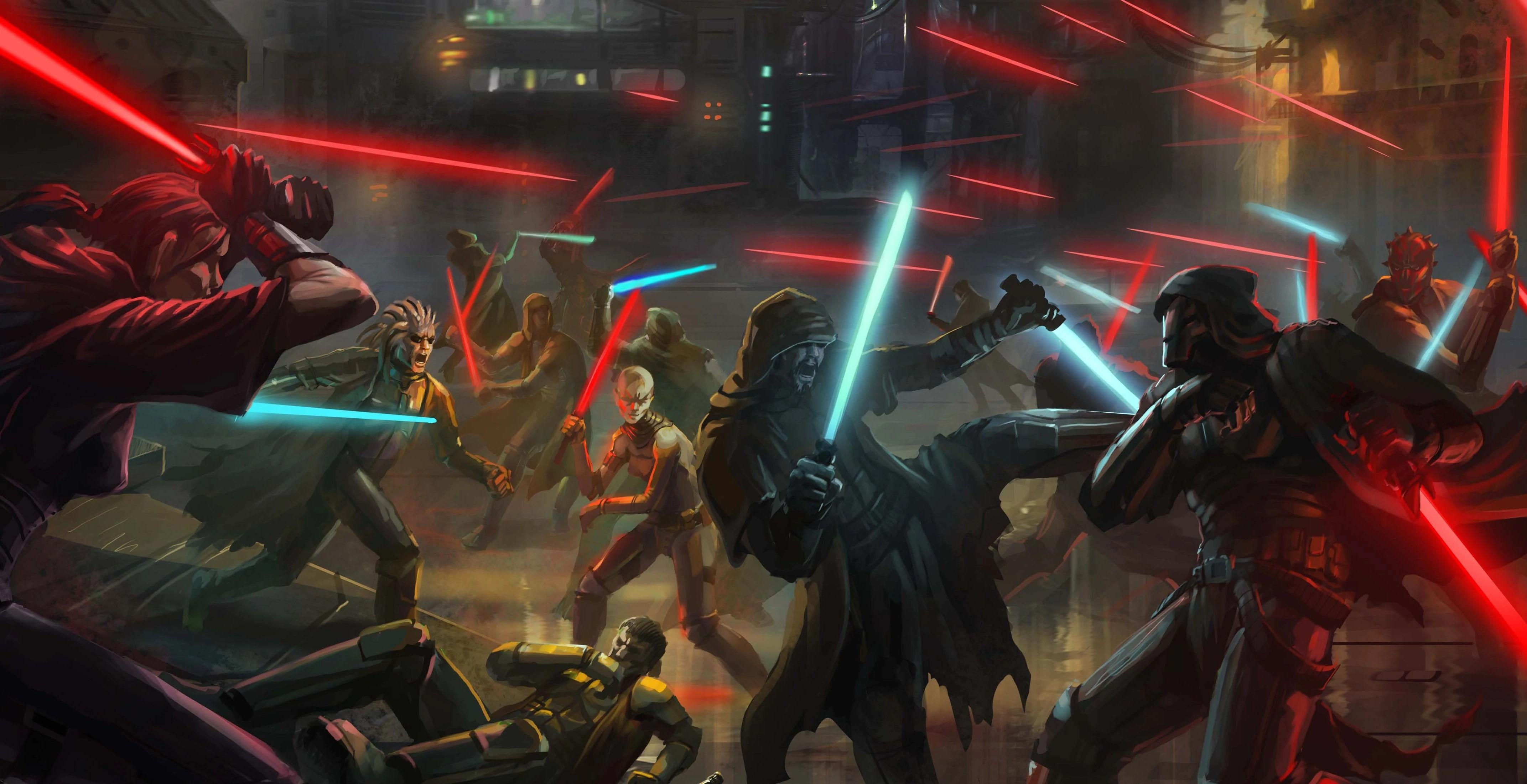 Archivo:Great War Jedi vs Sith.jpg