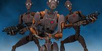 Droide comando serie BX