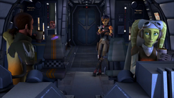 Kanan, Hera and Sabine in Out of Darkness