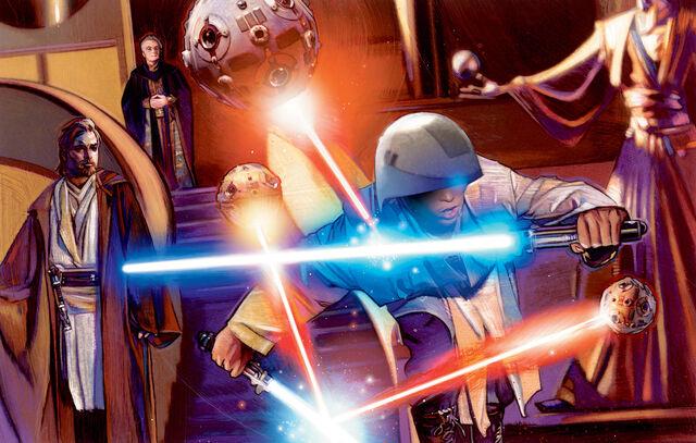 Archivo:Anakin training EGtF.jpg