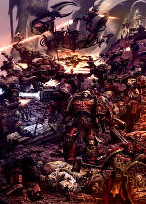 Angeles Sangrientos orkos batalla wikihammer 40k.jpg