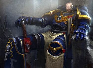 Ultramarines Commander