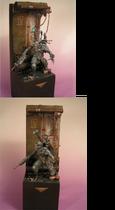 Miniatura diorama asesino eversor