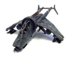 Aeronave clase buitre artillado
