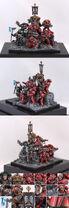 Miniatura marines angeles sangrientos diorama