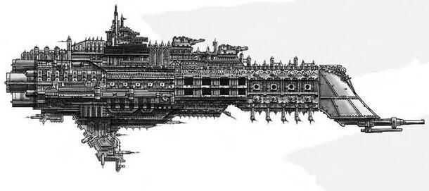 Crucero de Batalla Clase Marte Flota Imperial Wikihammer