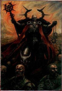Apóstol Oscuro Caos Portadores Palabra 6 Edición Warhammer 40k Wikihammer.jpg