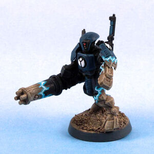 Desactivacion holocampo de armadura Tau XV15.jpg