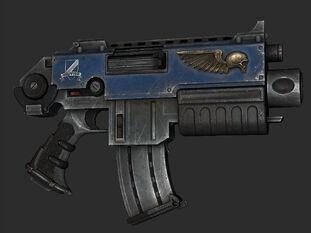 Bolter rifle marines espaciales space marines warhammer 40k wikihammer