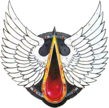 Logo Banner Angeles sangrientos Blood Angels