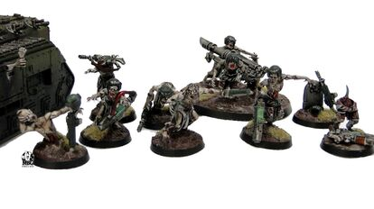 Zombies guardia imperial caos nurgle
