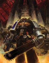 Marine guardianes muerte espada sierra