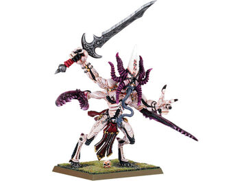 Mini grand demonio de Slaanesh