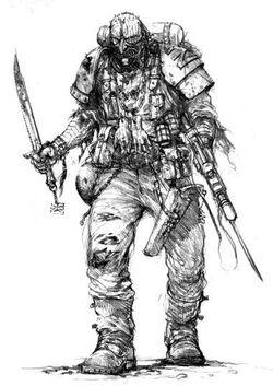 Caos pacto sangriento soldado