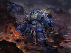 Space marine centurion by reza ilyasa-dab4fta