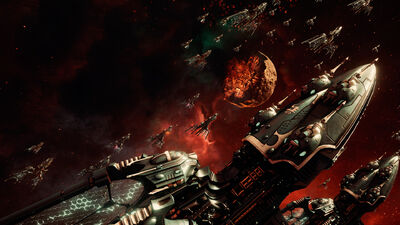 Flota Eldar Battlefleet Gothic Armada