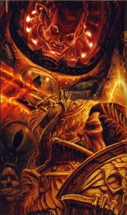 Horus contra el Emperador Wikihammer 40k
