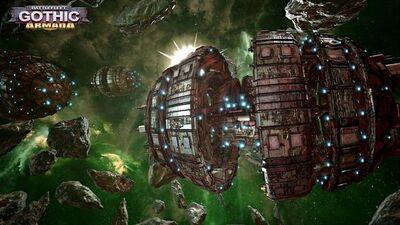 Esfera de Guerra Kroot Battlefleet Gothic Armada ilustración.jpg