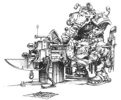 Mekániko diseñando Akribillador Molón.jpg