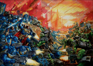 Ultram vs orks
