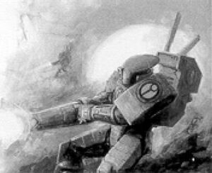 Armadura Mimética XV15 Sombra en combate.jpg