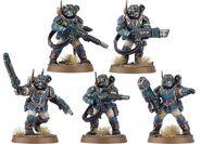 Escuadra de Vástagos Tempestus Miniaturas Wikihammer