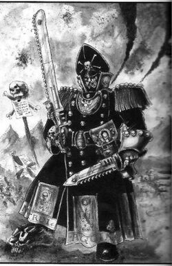 Guardia imperial comisario espada sierra BN.jpg