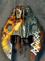 Miniatura eldar tanque dragon rayos