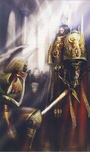 Emperador y primarca Sanguinius